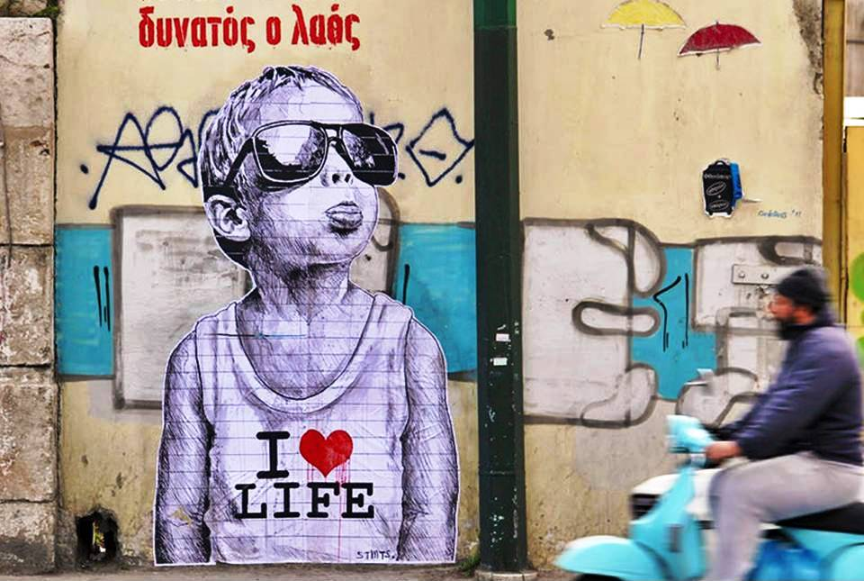 Street Art Walking Tour Athens