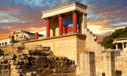 Percy Jackson Tour of Knossos and Archaeological Museum in Heraklion, Crete