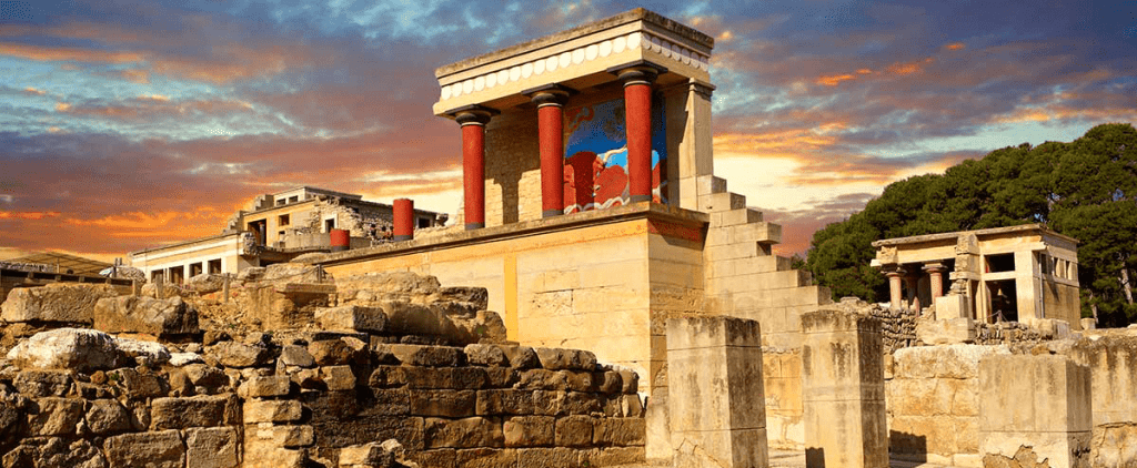 Crete kids love greece family activities tablets virtual reality Palace of Knossos 3D app guiding tool families tours