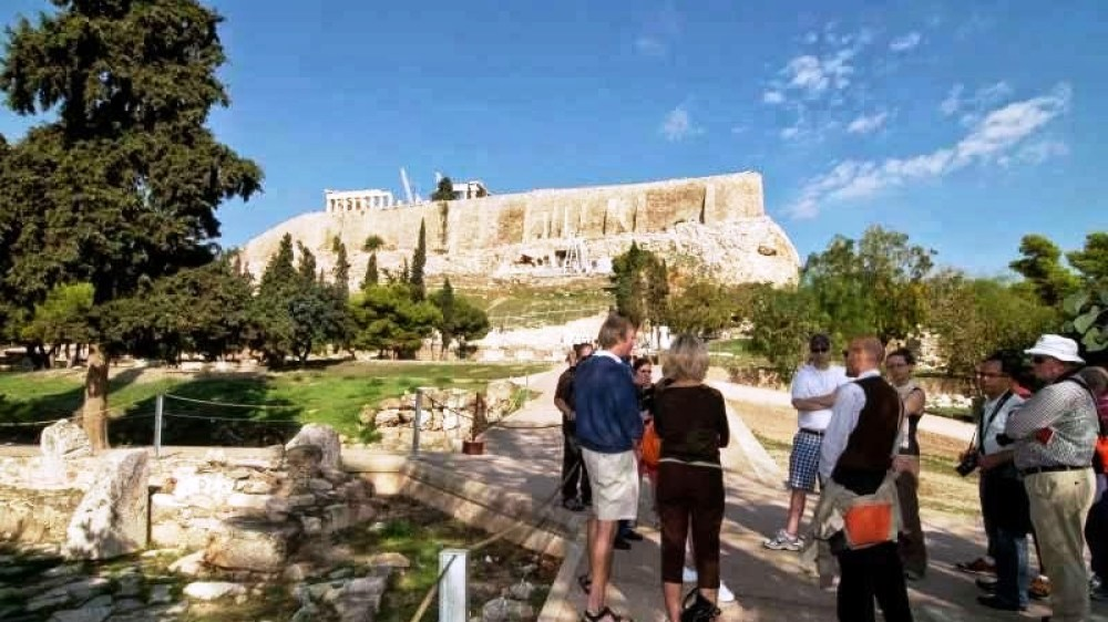 Percy Jackson Tour of Athens – Acropolis + Museum + Temple of Poseidon