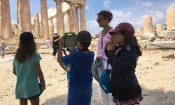 Percy Jackson Tour of the Acropolis and Acropolis Museum
