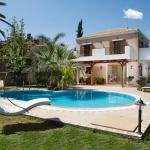 comfortable country chic family villa heraklion hersonisos crete kids love greece accommodation for families