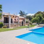 comfortable family villa kids love greece accommodation families oaks and olive trees rethymno crete