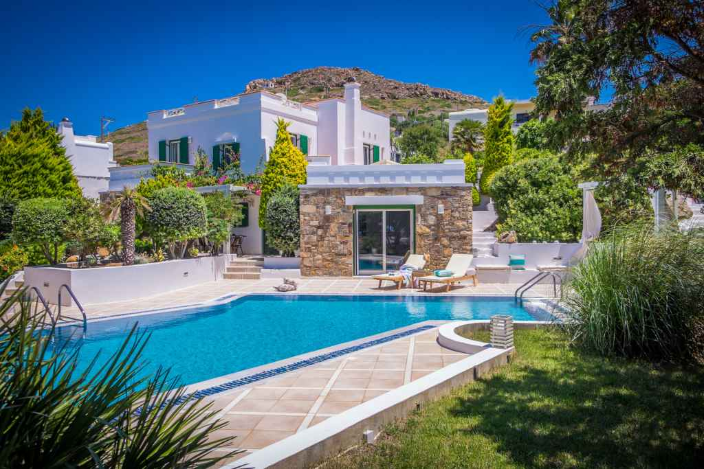 ego family villa naxos island private pool sea view kids love greece accommodation for families