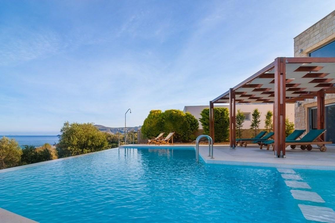 family villa corallium sfinari western chania crete kids love greece accommodation for families