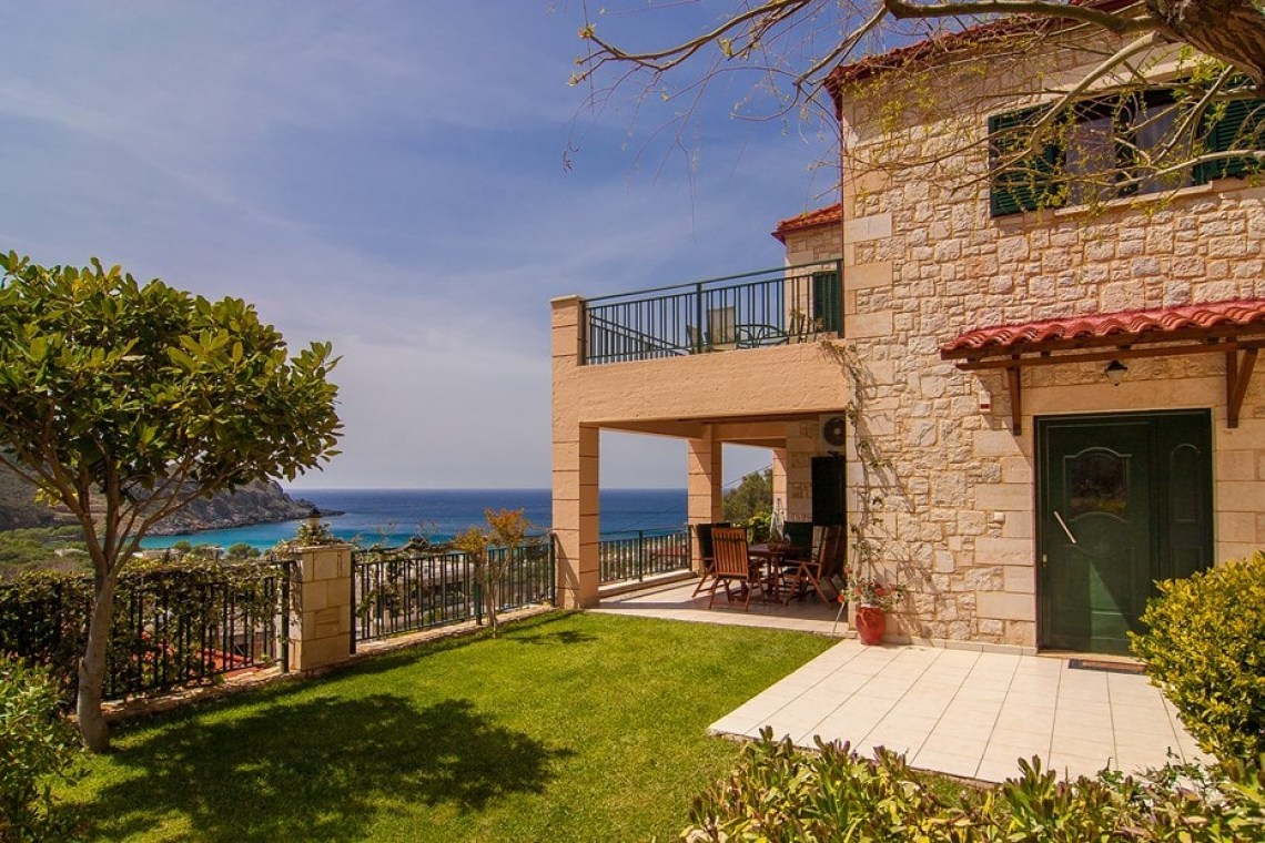 family villa klio sfinari western chania crete kids love greece accommodation for families
