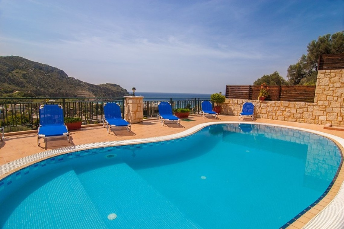 kids love greece accommodation for families family villa klio sfinari western chania crete