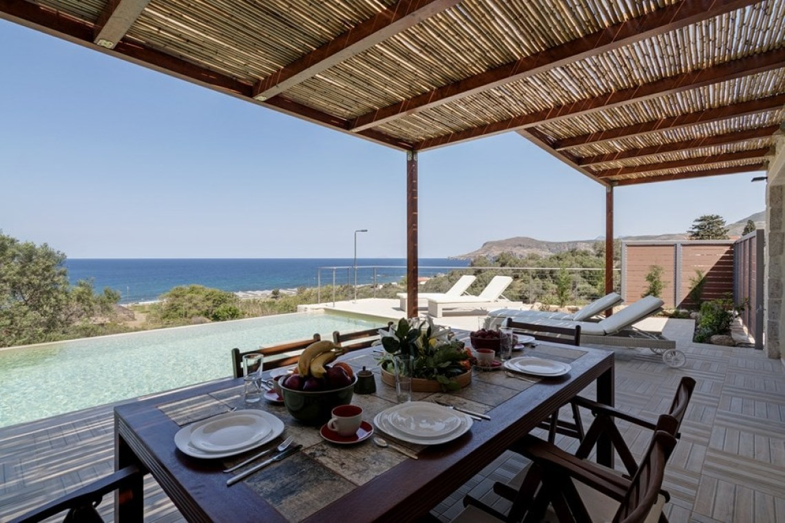 western chania sfinari crete kids love greece accommodation for families family villa sfinari