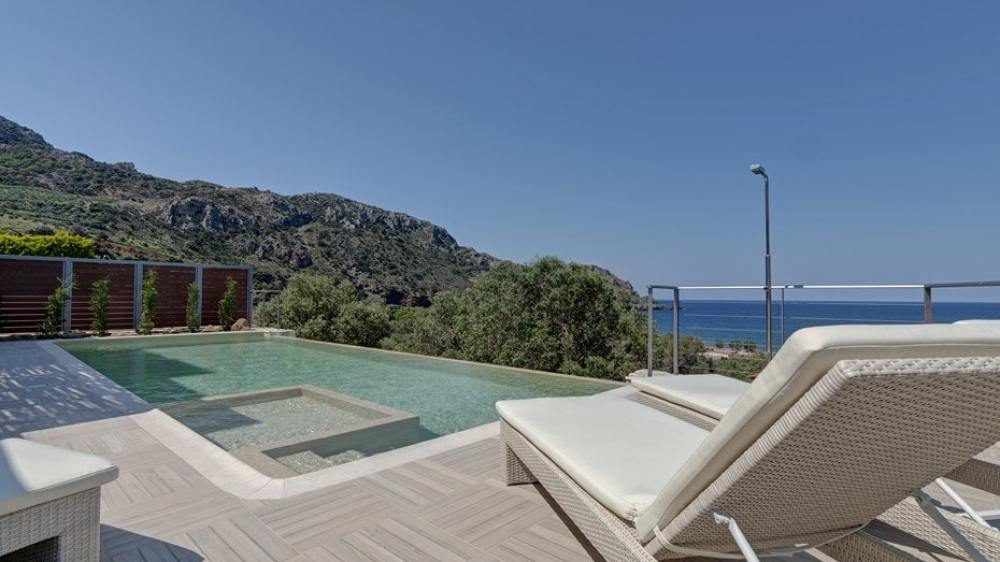 Family Villa Sfinari, Sfinari, Western Chania, Crete