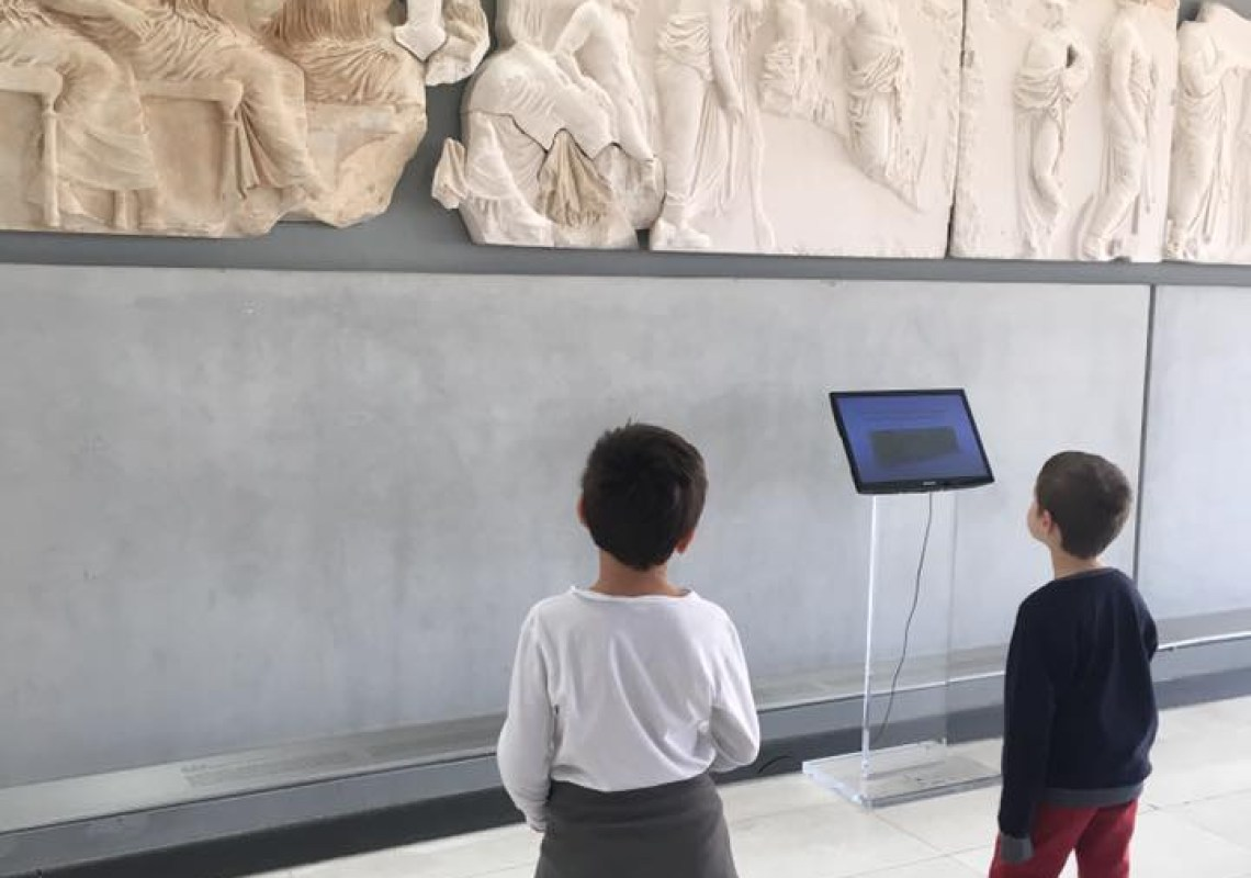 Acropolis museum Greek mythology family vacation package three nights activities for families family guided tour kids love greece Athens