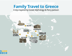 5-day Percy Jackson Greek Mythology Family Vacation Package