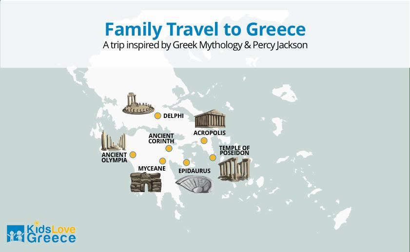 Percy Jackson Mythology Family Trip 5-day Package | Kids