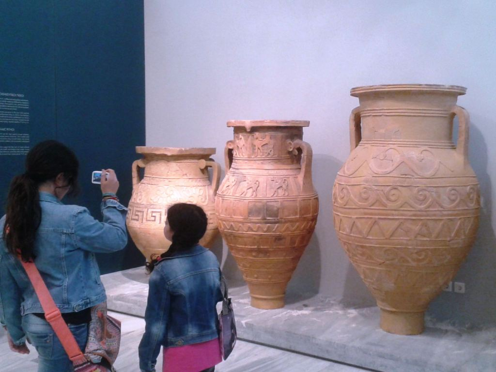 family guided tour kids love greece Crete Percy Jackson Mythology Family Trip 7-day Package activities for families Archaeological museum Heraklion