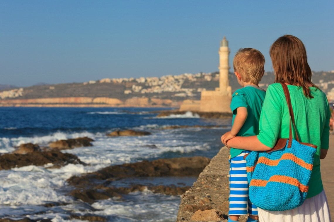 Chania Street Stories Family Walking Tour kids love greece activities for families Crete