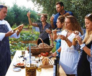 Olive Oil Tasting Family Workshop