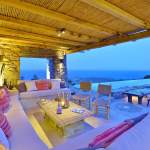 the Drakothea family residence in Myconos island luxury villa cyclades kids love greece accommodation for families