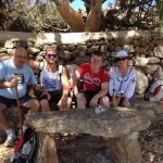 guided family hiking adventure in Mykonos island kids love greece activities for families Cyclades