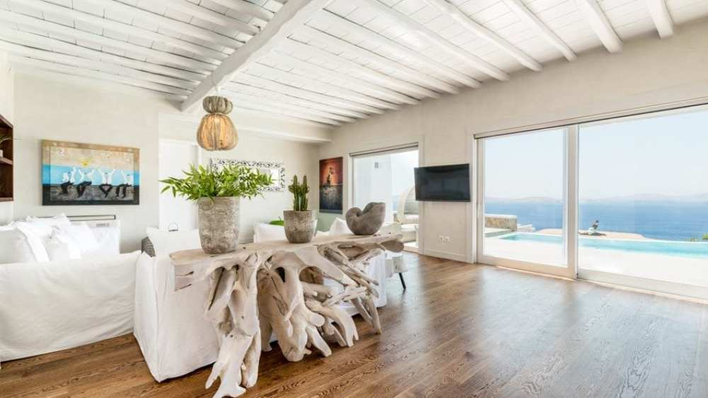 A Luxury Bohemian Family Villa in Mykonos