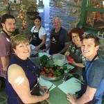 Kea family food and cooking workshop Aglaia Kremezi KidsLoveGreece.com