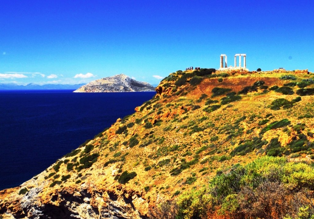 Temple of Poseidon Stargazing at Cape Sounion Family Tour kids love greece Athens activities