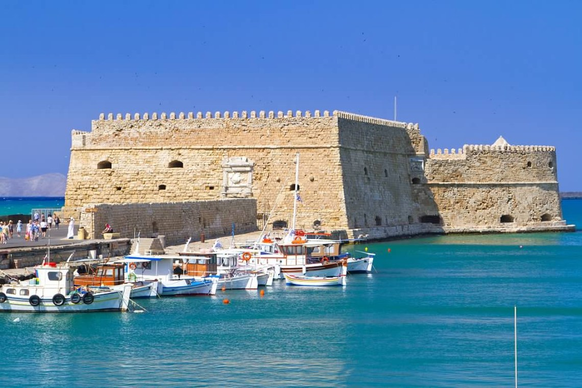 Heraklion Koules kids love greece activities for families family road trip in Crete