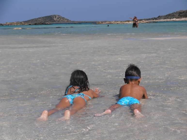 kids love greece activities for families family road trip in Crete