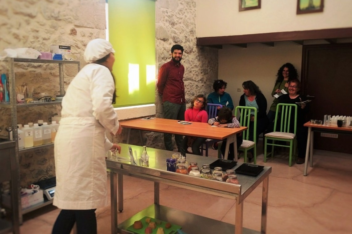 activities for families Heraklion traditional soap making family workshop Crete kids love greece
