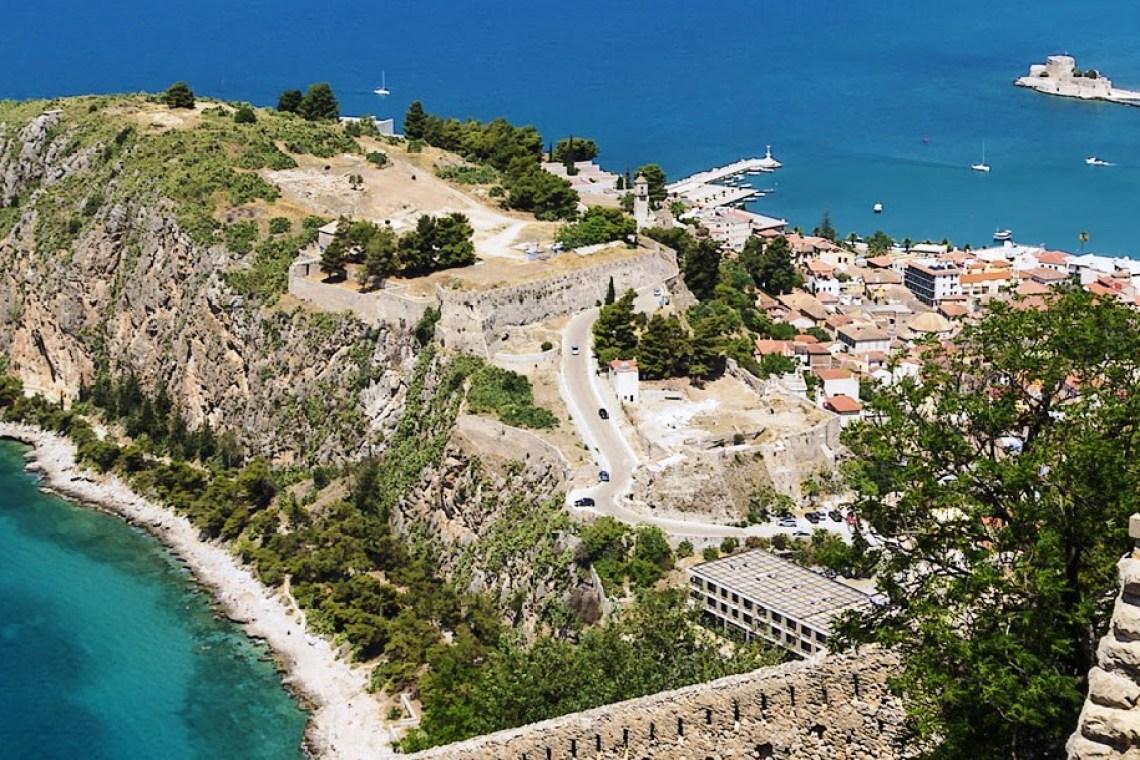 999 Steps to Palamidi castle