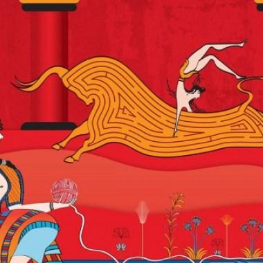 Minoan themed Coke Campaign features Crete!