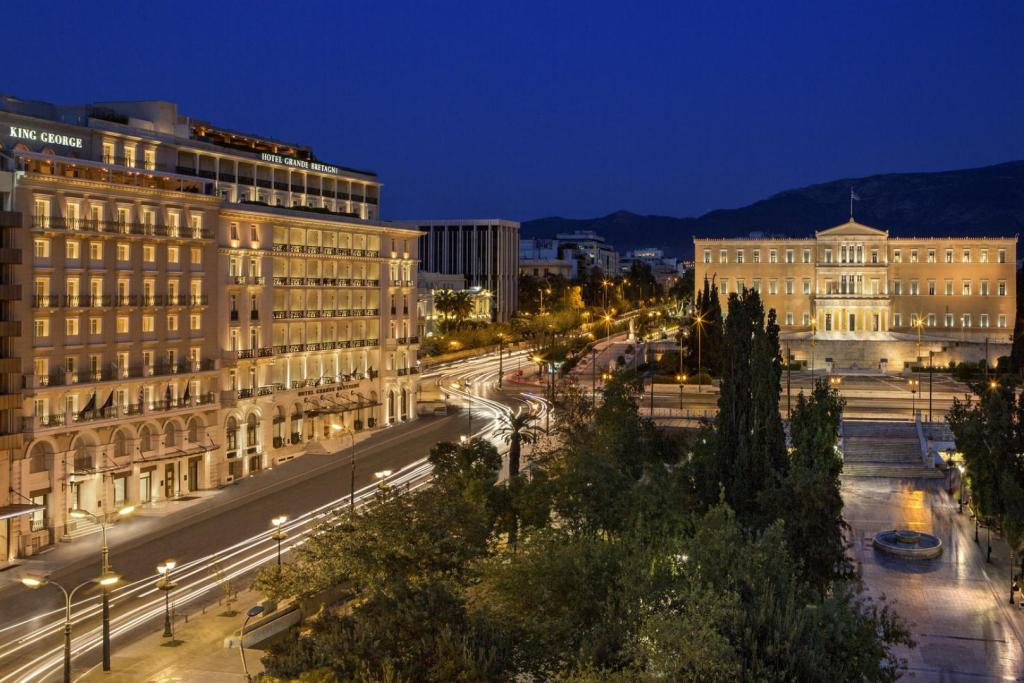The King George Hotel in Athens Inspiring Accommodation for families Luxury Collection Marriot Acropolis kidslovegreece