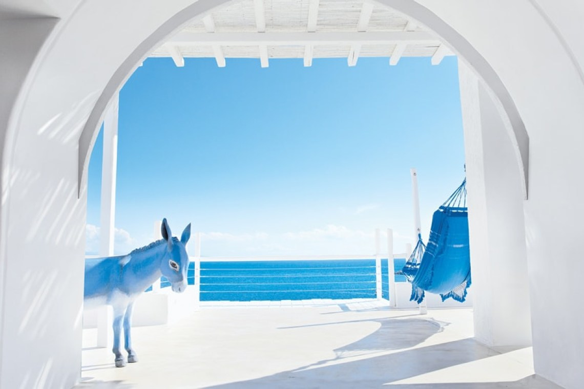 The Mykonos Blu Grecotel Exclusive Resort Cyclades Greece Hotel best accommodation luxury high standards families kidslovegreece Psarou private beach greek islands