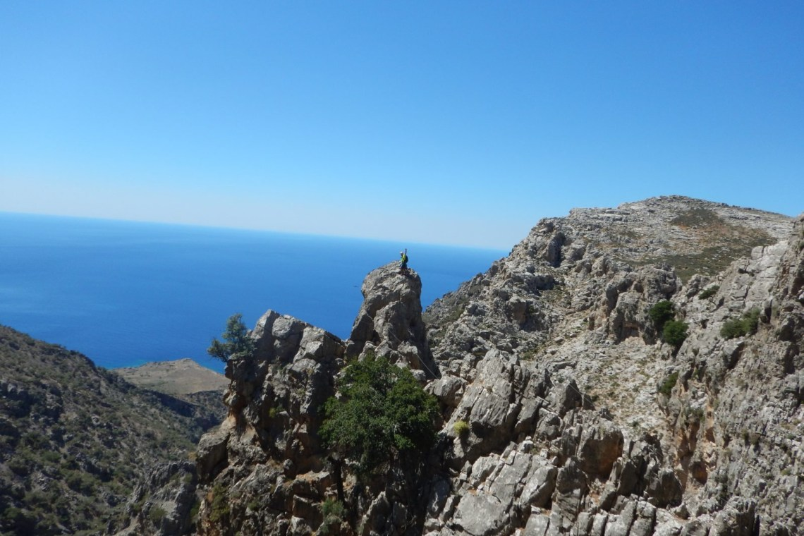 outdoor activities kids love greece crete via ferrata for families