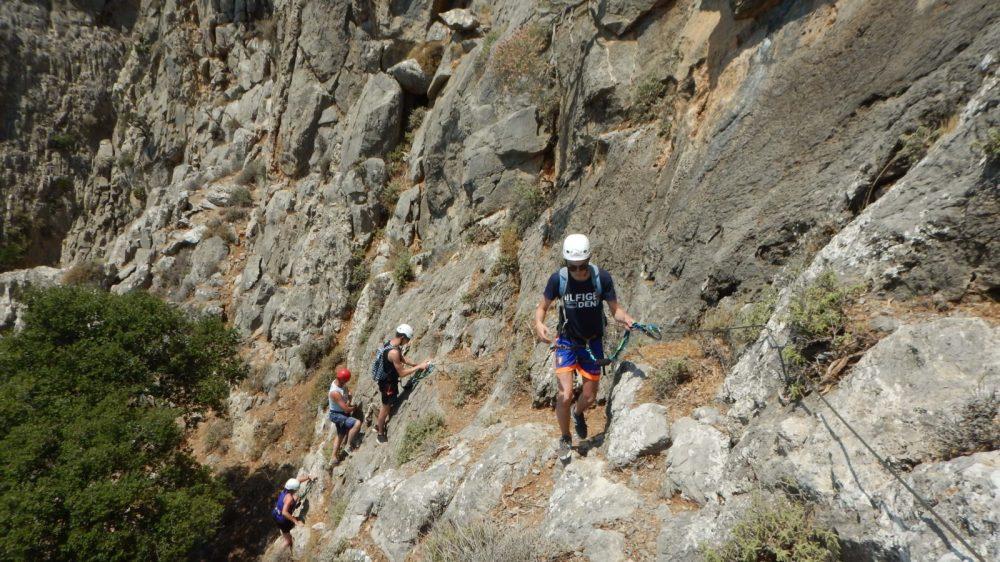 A Via Ferrata for Families in Crete