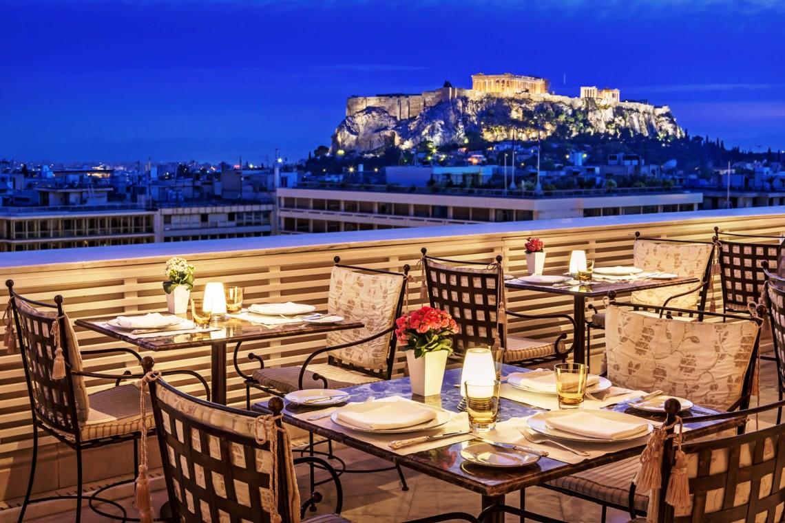 King George hotel Athens KidsLoveGreece.com accommodation