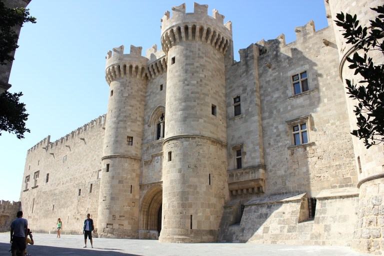 The Palace of the Grandmaster in Rhodes