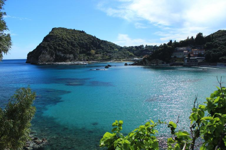 The Sea and Natural Landscape of Corfu PX