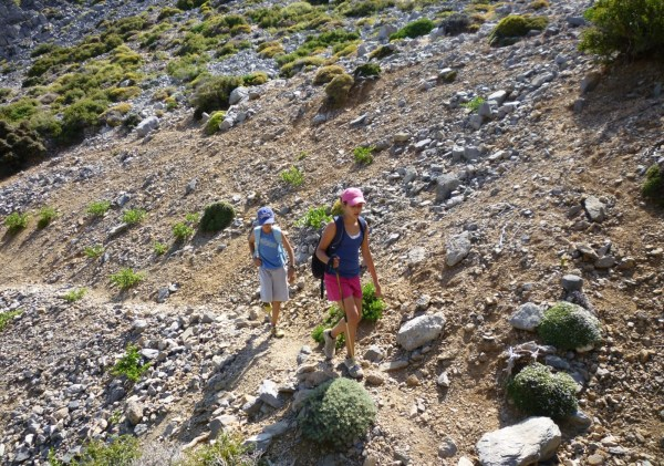 A Family Hiking Adventure on the Highest Mountain of Crete