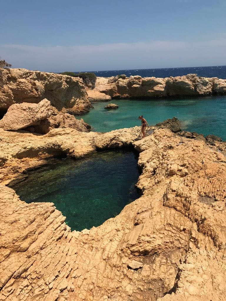 Koufonisi travel with family in Greece Kids Love Greece
