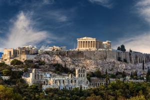 Acropolis hill Athens