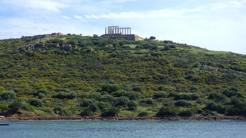 Temple of Poseidon | Kids Love Greece