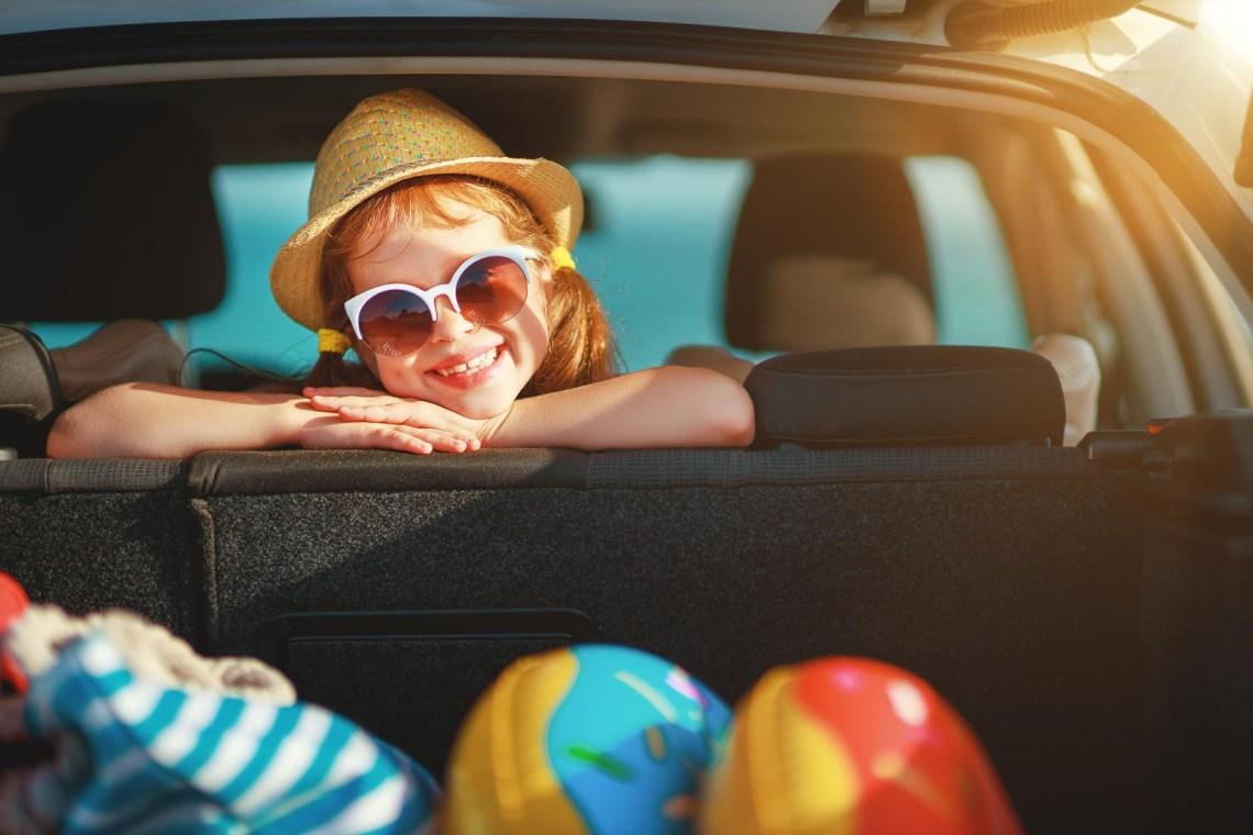 family trip with car KidsLoveGreece.com