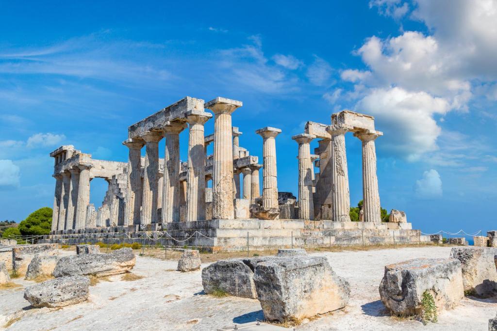 Aigina island Afea temple