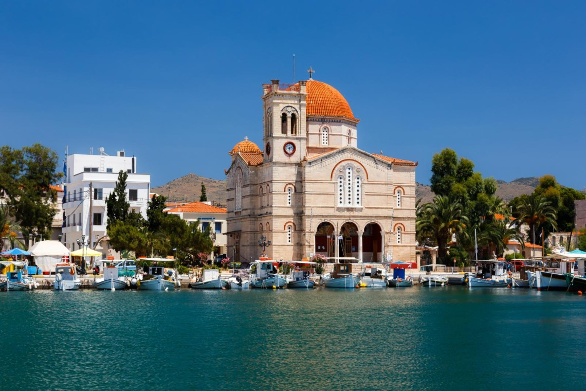 Church at Aegina island