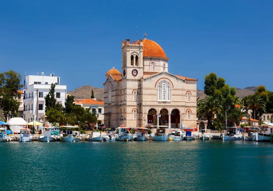 Church at Aegina island