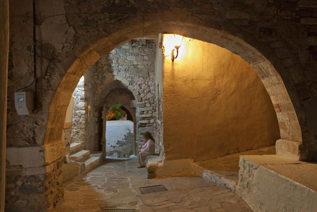 Naxos castel internal