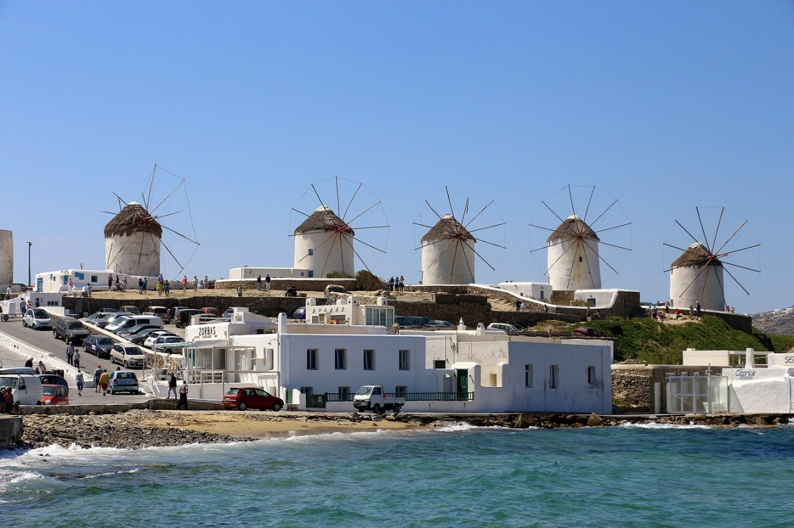 The Windmills of Mykonos