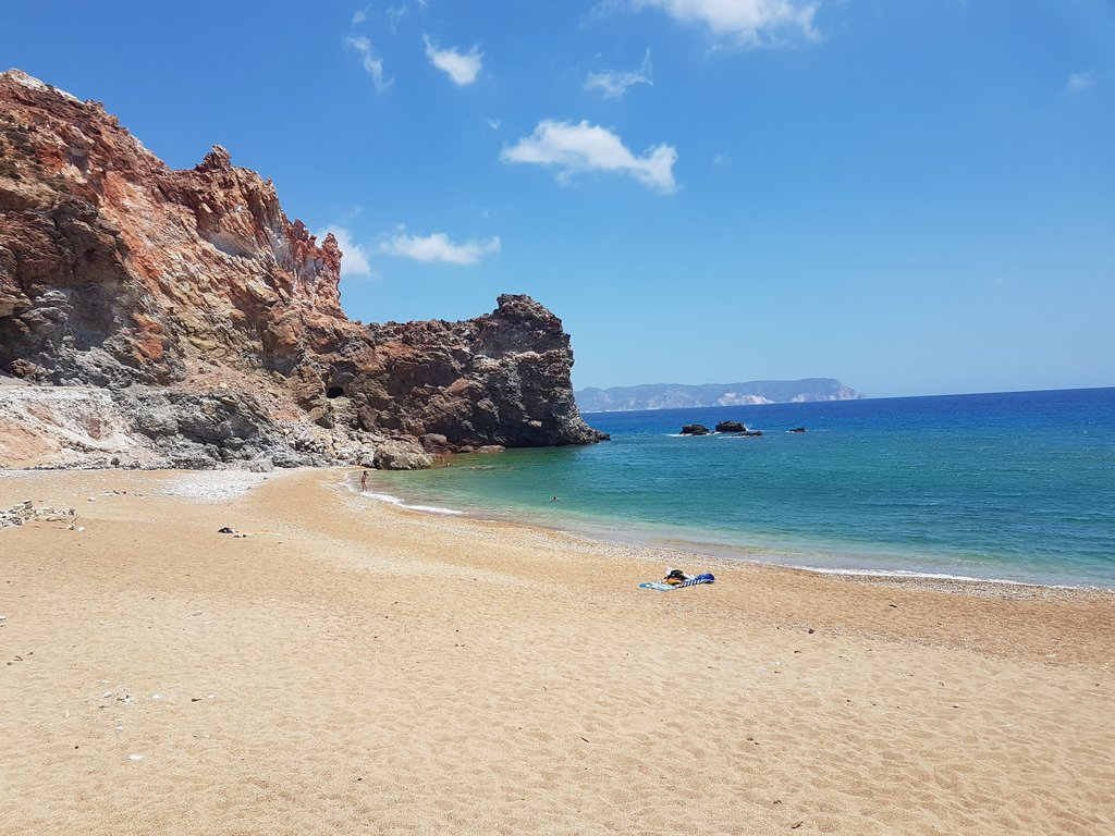 Beaches in Milos Island