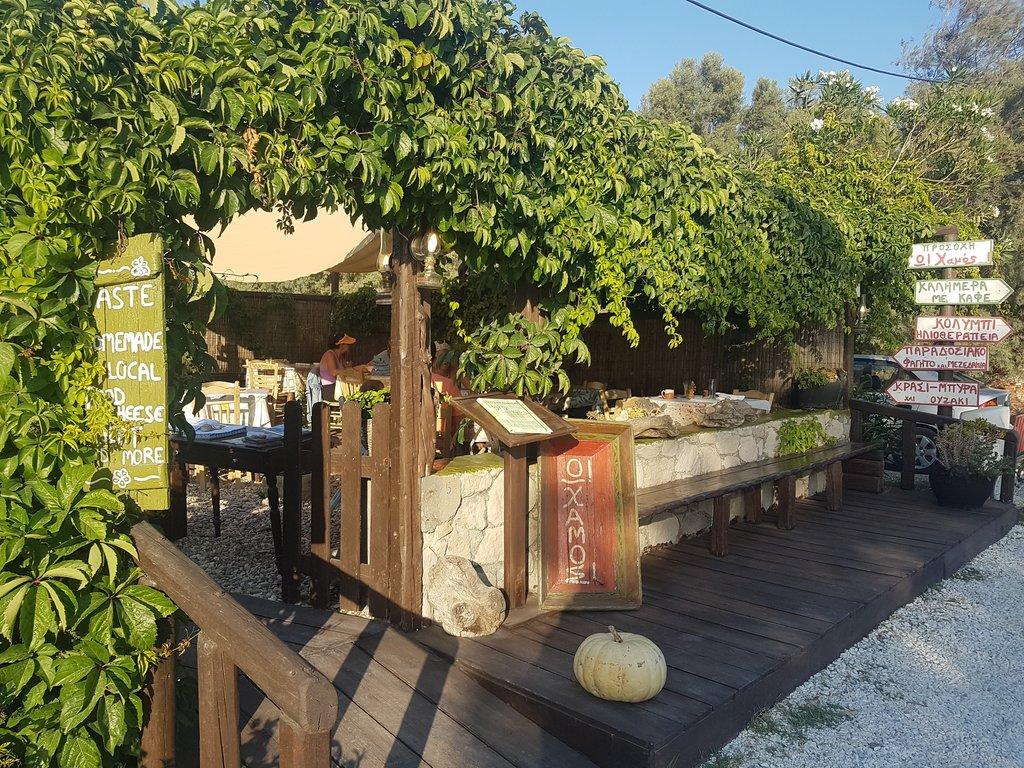 A nice restaurant on Milos