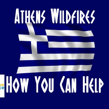 Athens Wildfires – How You Can Help
