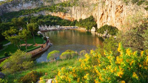 Vouliagmeni lake